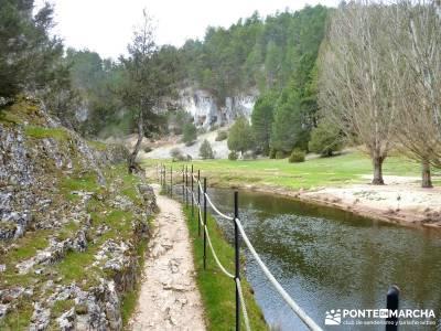 Cañón Río Lobos; cruce de caminos; san sebastian de los reyes;atención exclusiva al senderista